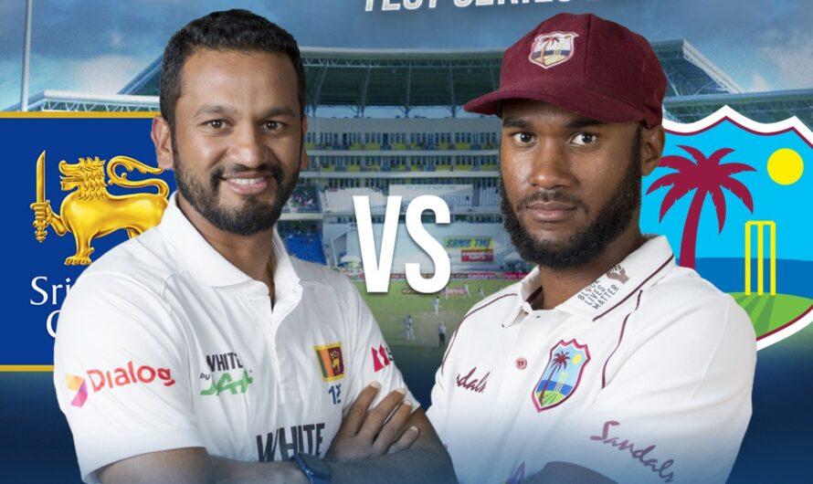 West Indies vs Sri Lanka 1st Test Match Live Score Updates, Playing XI, 21 March 2021