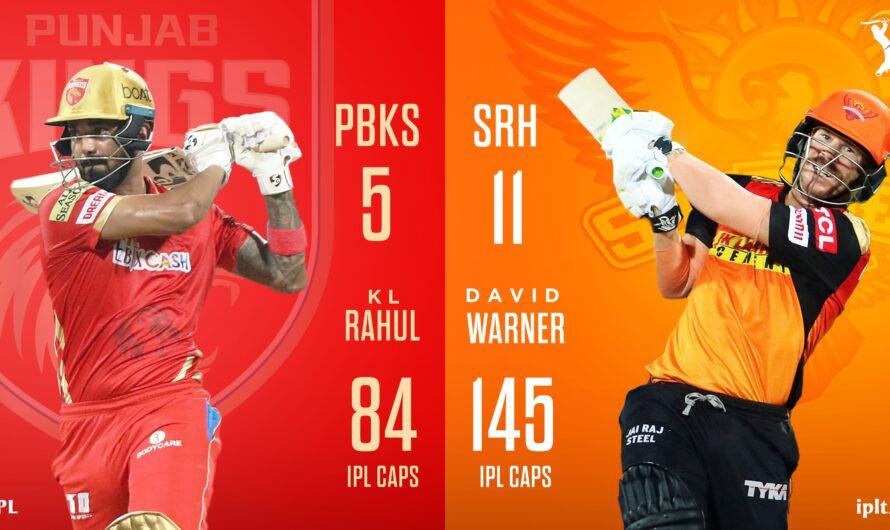 IPL 14 PBKS vs SRH 14th Match Live Score, Playing XI's, Win Prediction, Result 21 April 2021