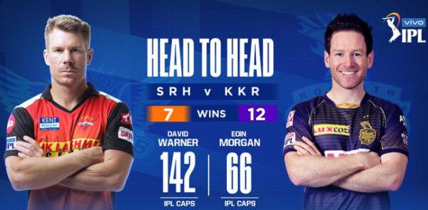 IPL 14 SRH vs KKR 3rd Match Live Score, Playing XI's, Win Prediction, Result 11 April 2021