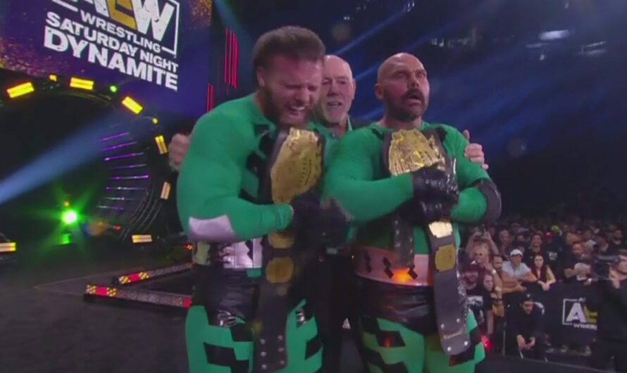 FTR becomes AAA Tag Team Champions – AEW Dynamite 16 Oct 2021 Results with Written Details