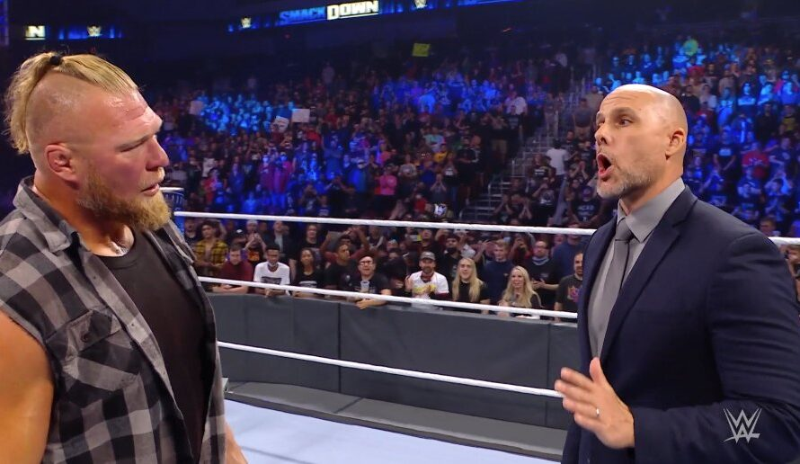 Brock Lesnar gets indefinitely suspended – WWE SmackDown 22 Oct 2021 Results with Full Details