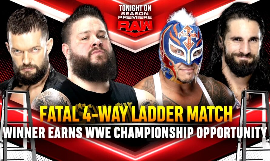 WWE RAW Season Premiere 25 October 2021 Results, Segments, Highlights with Written Updates