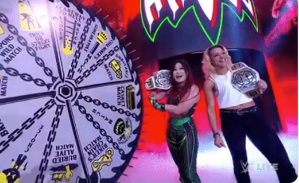 WWE NXT 2.0 Shirai and Stark spins the wheel 19 October 2021 Results with Full Details