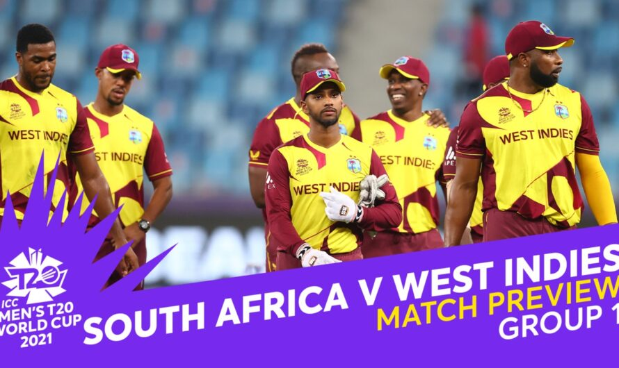 RSA vs WI 26 October 2021 Live Score, Playing xi's, Prediction – ICC T20 World Cup 2021