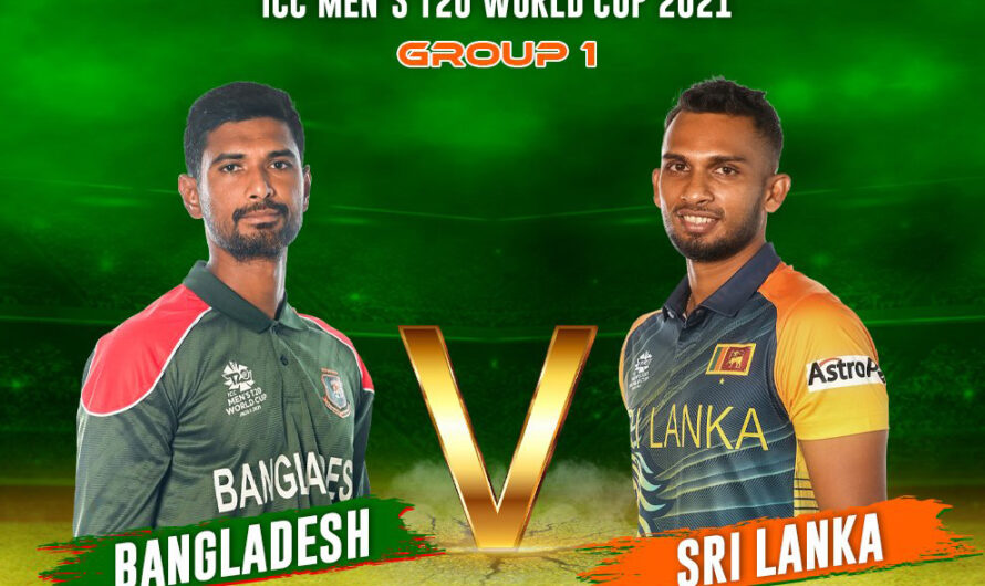 SL vs BAN 24 October 2021 Live Score, Playing xi's, Prediction – ICC T20 World Cup 2021